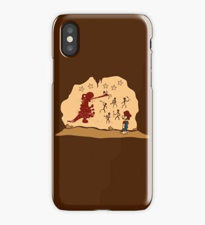 Mario Cave Paint iPhone Case