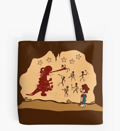 Mario Cave Paint Tote Bag