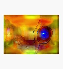 Eye Witnesses the Colours Photographic Print