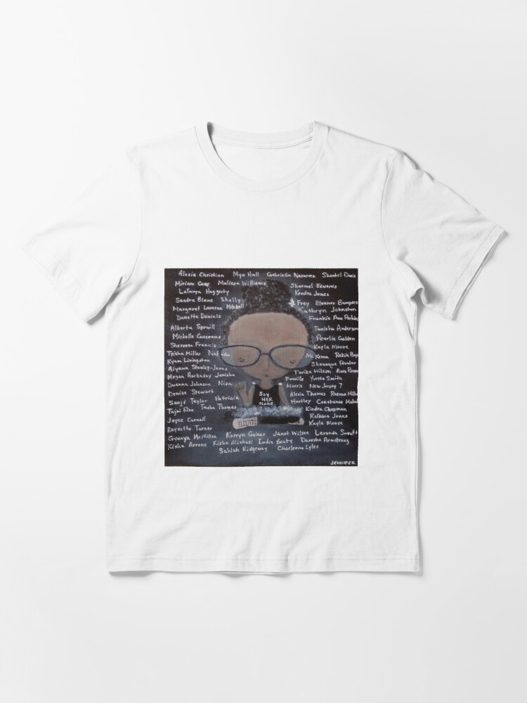 Alternate view of Say Her Name Essential T-Shirt