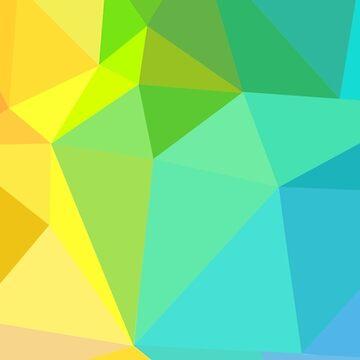 Low Poly Rainbow by EloisaRelish