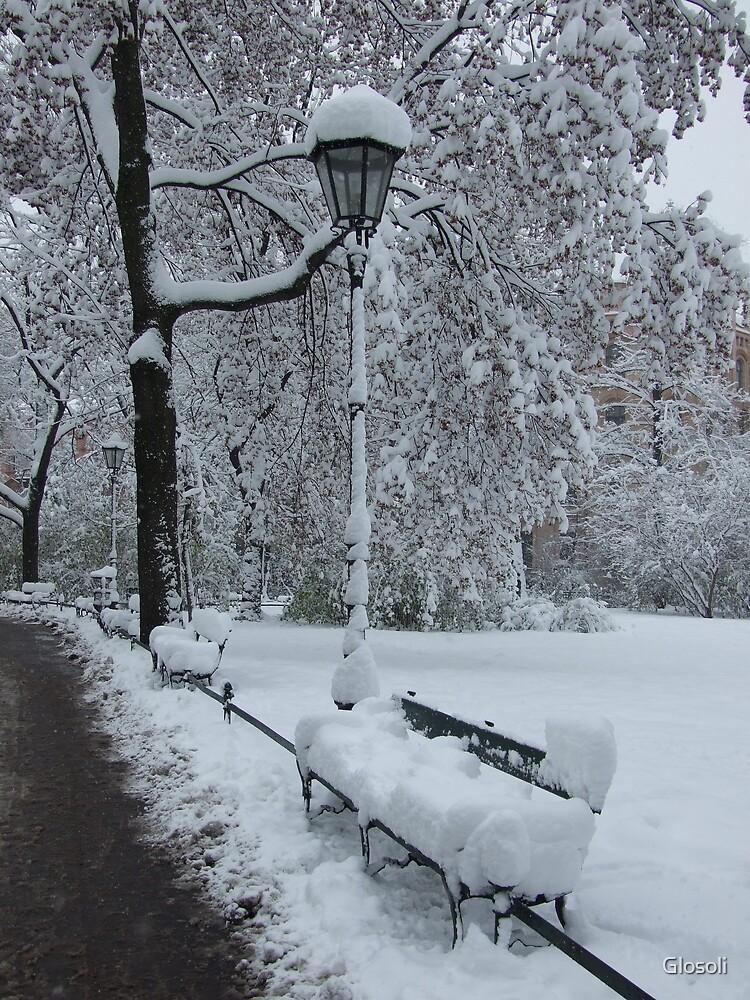 a winter lane by Glosoli