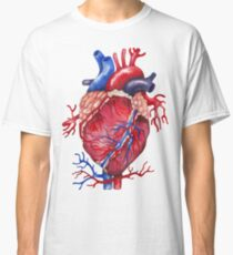 Watercolor heart Classic T-Shirt