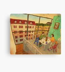 Board game Canvas Print