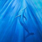 Dolphin in blue von Kissart