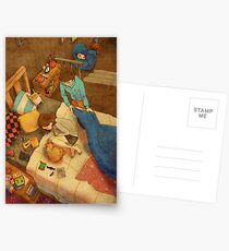 Let me cover you up with a blanket Postcards
