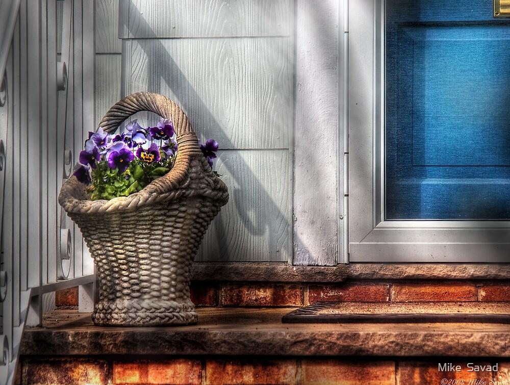 Basket of flowers by Michael Savad