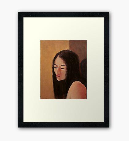 Girl 2 Framed Print