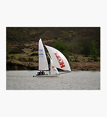Yachting Photographic Print