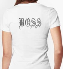 Boss, in Olde English! The BOSS, CEO, Chief, In Charge T-Shirt