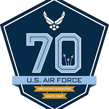 Air Force 70th Anniversary Emblem by Quatrosales