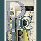 Typographical composition: Process by Zern Liew