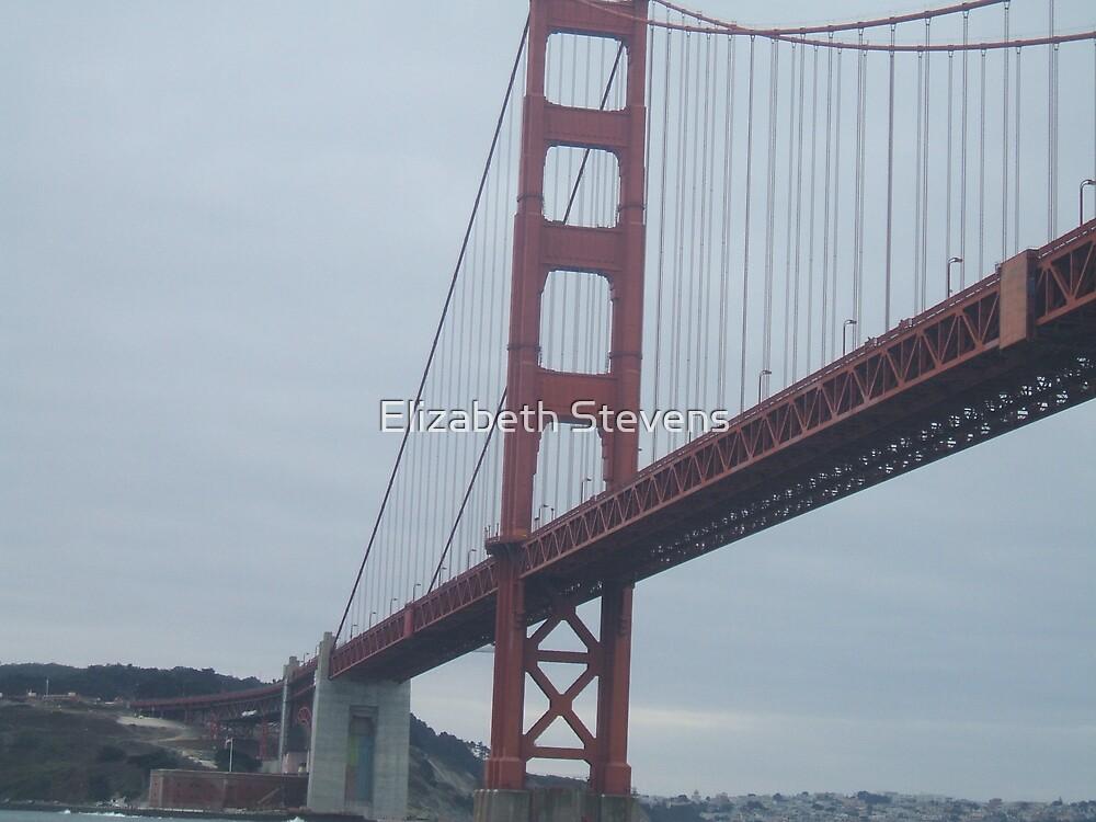 The Golden Gate Bridge. by Elizabeth Stevens