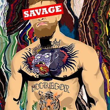 Savage Conor McGregor by rsolisarroyo