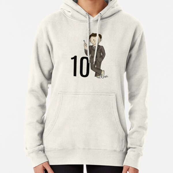 Little 10th Doctor Pullover Hoodie