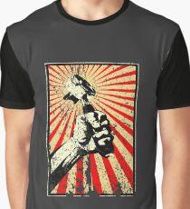 Coffee Revolution! Distressed Graphic T-Shirt