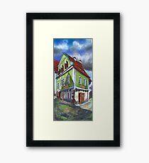 Chesky Krumlov Old Street 4 Framed Print
