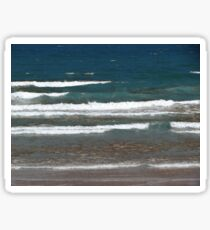 Northumberland Waves Sticker