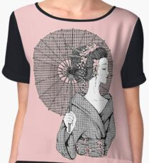 Vecta Geisha Women's Chiffon Top