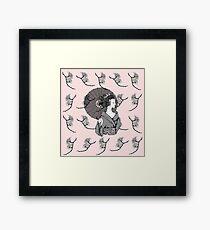Vecta Geisha Framed Print