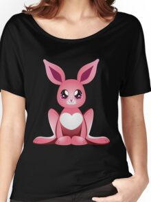 Pink bunny 2 Women's Relaxed Fit T-Shirt
