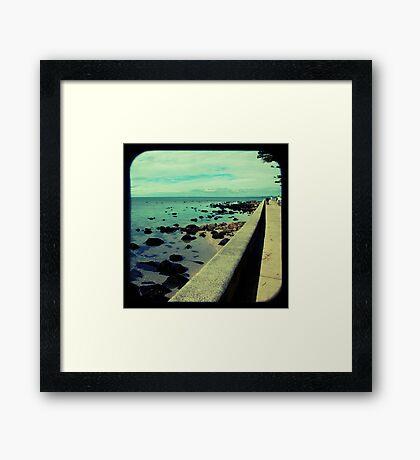 The Esplanade Framed Print