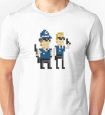 Hot Fuzz - Pixel Art T-Shirt