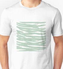 Abstract brush stroke pattern Unisex T-Shirt