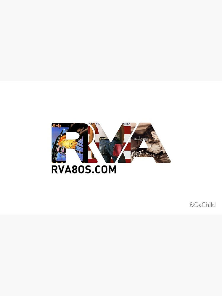 Official RVA logo for the 80s Child Radio Station by 80sChild