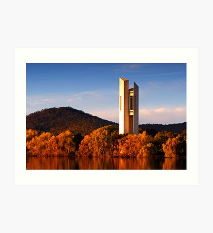 National Carillon - Canberra Art Print