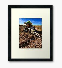 Jak in the Desert Framed Print