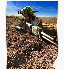 Jak in the Desert Poster