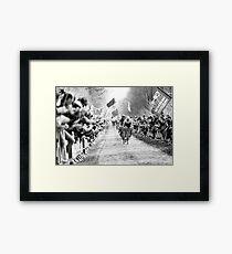 Fabian Cancellara. (Trek-Segafredo) Framed Print