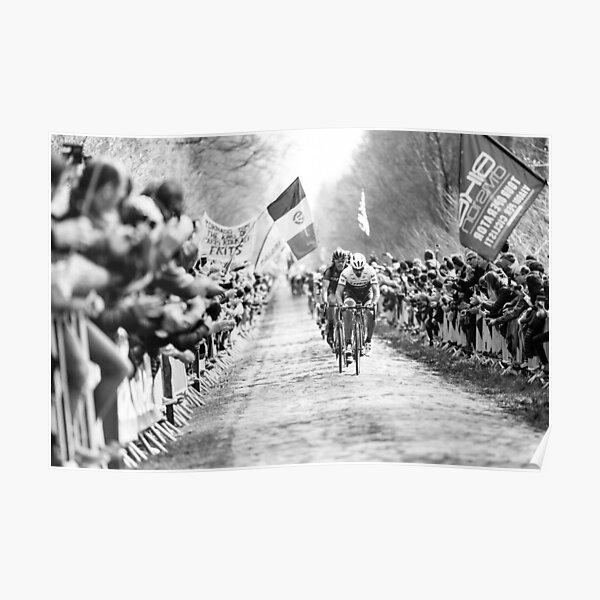 Fabian Cancellara (Trek-Segafredo). Paris-Roubaix 2016. Poster
