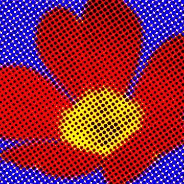 Pop Art Flower by becca305