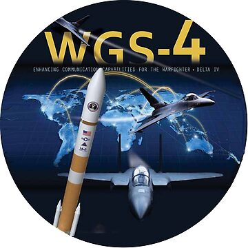 WGS-4 Launch Team Logo by Quatrosales