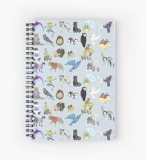 we're all animals Spiral Notebook