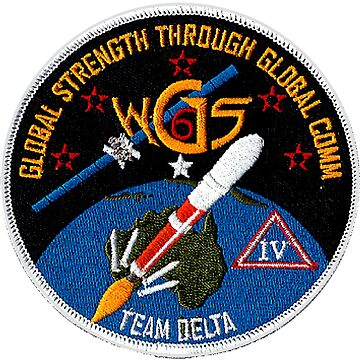 WGS-6 Launch Team Logo by Quatrosales