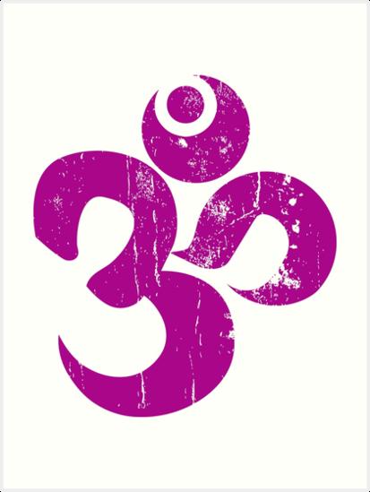 Lminas Artsticas Hindu Om Ohm Symbol De Buy Cool Shirts Redbubble