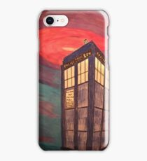 Tardis in Space iPhone Case/Skin