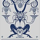 Naked on My Goat' Bookplate  by VintageBrooks