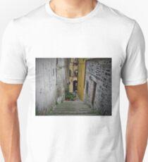 Narrow streets of Barga T-Shirt