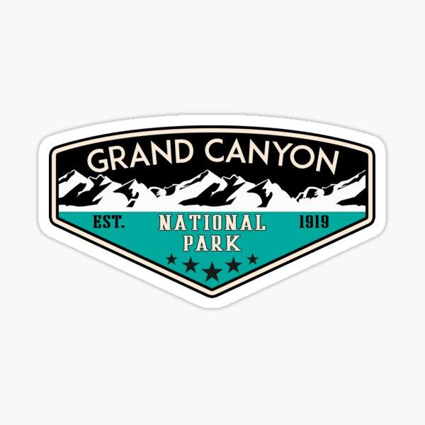 GRAND CANYON NATIONAL PARK ARIZONA MOUNTAINS HIKING CAMPING HIKE CAMP 6 Sticker
