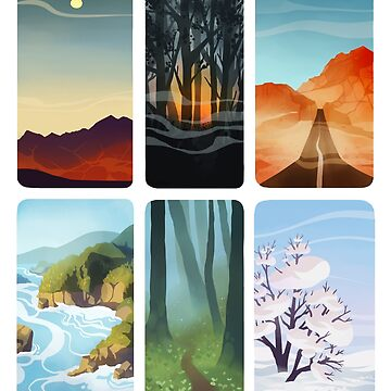 Little landscapes by siins