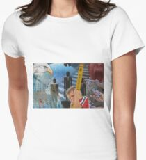 Education in America Women's Fitted T-Shirt