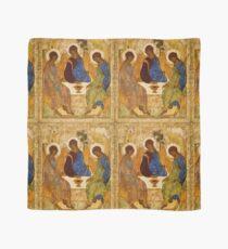 Heilige Dreifaltigkeits-Malerei Rublev-Dreiheits-Druck-Ikone Christian Religiöse Wandkunst Tuch