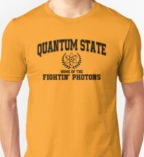 Quantum State, Home of the Fightin' Photons Unisex T-Shirt