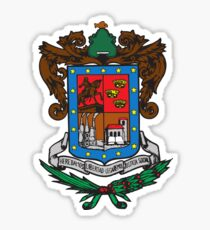 Michoacán Coat of Arms, Mexico Sticker
