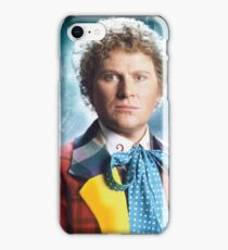 Colin Baker - The Sixth Doctor iPhone Case/Skin