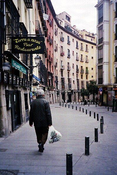 Madrid street, 2007 by LAUREN ROBERTS